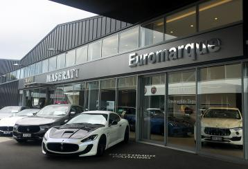 Maserati showroom photo